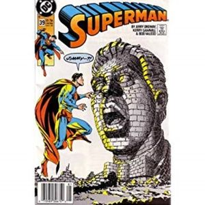 Superman By DC #39 Comic Book 1990 By Jerry Ordway